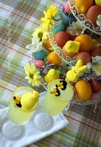 Garnish with Easter Peeps | Home is Where the Boat Is