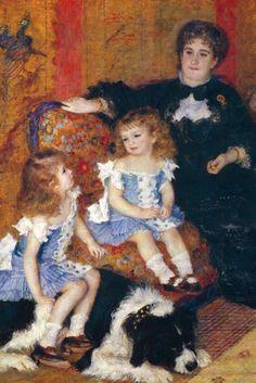 Madame Charpentier and her Children, by Pierre-Auguste Renoir