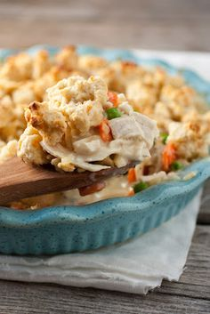 Chicken Pot Pie Crumble