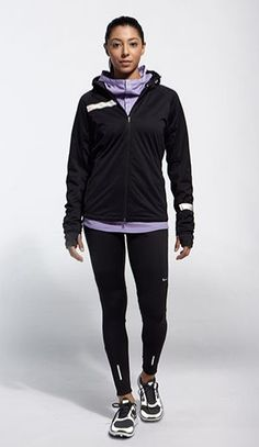The perfect cold weather running collection brought to you by Nike Running. #gear #running #nike