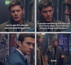 [SET OF GIFS] 8x12 As Time Goes By #S8 #SPNS8 #Supernatural