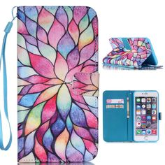 iPhone 6Plus Case,iPhone 6s Plus Case,XYX [Color Lotus] - [Kickstand][Wallet][Card Slot][Flip][Slim Fit][Lanyard] Premium Protective Case for iPhone 6Plus / 6s Plus (5.5 inch). Note:This case is fit for iPhone 6Plus / 6S Plus (5.5 inch). not fit for other models. Multi-Function Case: Leather Case & Credit Card Holder. High quality PU Leather : interior with soft TPU , Pretty Anti-Skid. Simple fashion design, a new manifestation of modern life style of leisure. Flip-style opening, easy...