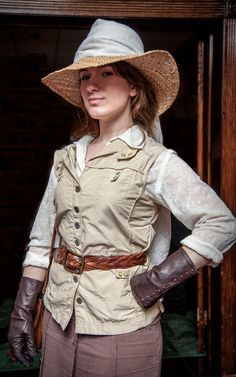 steampunk explorer outfit - Google Search