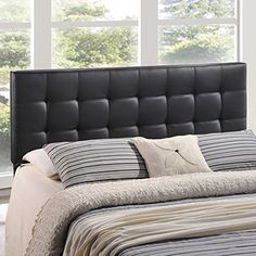 Lily King Vinyl Headboard Black -- Click on the image for additional details.Note:It is affiliate link to Amazon.