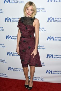 She wore a dress by Erdem to The International Medical Corps Awards in LA.