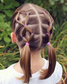 42 Cute Hairstyles for Girls Toddlers /. Stunning 42 Cute Hairstyles for Girls Toddlers /. Girls Hairdos, Cute Girls Hairstyles, Kids Braided Hairstyles, Girl Haircuts, Easy Toddler Hairstyles, Summer Haircuts, Teenage Hairstyles, Hairstyles Pictures, Pretty Hairstyles