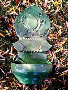 Wall Fountains, Plant Pots, Garden Ornaments, Hungary, Facebook, How To Make, Pot Plants, Flower Pots, Planter Pots