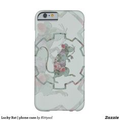 Lucky Rat   phone case Barely There iPhone 6 Case