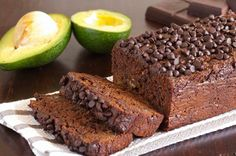 Avocado Chocolate Bread Combining two of the most delicious foods in the world, this recipe produces a moist cake loaded with healthy fats, thanks to the avocado, but with just right amount of chocolately taste. Leave out the pecans if you're not nuts about nuts.
