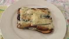 Lasagne..di melanzane al formaggio fondente.......ideato...dal ..sottoscritto