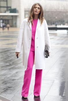New York Fashion Week Street Style — Fall 2012 Edition (Updated! New York Fashion Week Street Style, Nyfw Street Style, Ny Fashion Week, 20s Fashion, Autumn Street Style, Cool Street Fashion, Street Style Looks, Fashion Photo, Winter Fashion