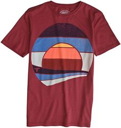 TOPO RANCH SUNSET SS TEE | Swell.com $39.00
