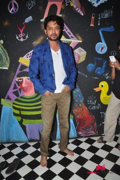 Irfan Khan Snapped Post Anupama Chopra Show Shoot