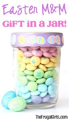 Easter MM Gift in a Jar!
