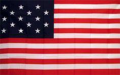15 Star Historical 3'x 5' American Flag
