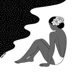 Henn Kim, Black And White Love, Aesthetic Art, Minnie Mouse, Disney Characters, Fictional Characters, Illustration Art, Thankful, Patterns