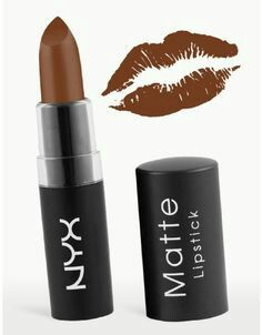 NYX Matte Lipstick - Maison  I cannot say enough about this shade. It is  matte and beautiful and classy and EXCELLENT for brown-skinned women. 987487473c5