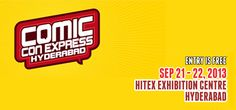 BOOK LAUNCHES AT 1ST EVER COMIC CON EXPRESS HYDERABAD 2013