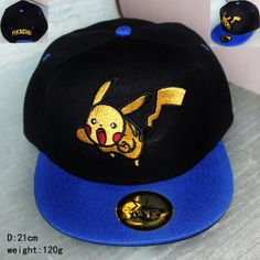 7ad632648d3 Anime Pocket Monster Cosplay Cap red yellow Novelty cartoon Pikachu ladies  dress Pokemon go Hat charm Costume Props Baseball cap.