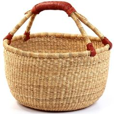 love these baskets from Ghana we brought back three of these when we were in Africa and I love them.