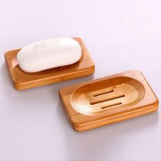 Natural Bamboo Wood Soap Dish