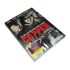 new drama Copper Season 1 DVD Box Set at hctwo