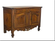 For Sale on - A fine early century Louis XV Provençal buffet made of solid walnut with pine as a secondary wood. The top of this buffet slides forward to reveal Antique Buffet, Antique Sideboard, Sideboard Buffet, Antique Interior, Antique Furniture, Home Furniture, French Furniture, Bedroom Furniture, China Buffet