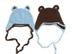 Grow Creative: Crochet Bear Hats