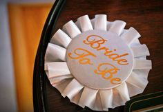 A pin for the Bride 2 Be!