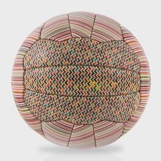 This limited edition Paul Smith signature stripe leather football is launched a week ahead of the 2014 Fifa World Cup. #WGSN
