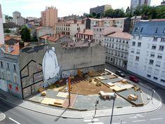 #playground #installazioni Place au changement, Saint-Etienne, France.