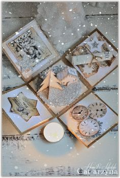Cat-arzyna: First Christmas Craft Ideas.