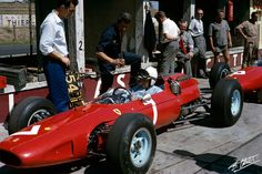Surtees 1964 Germany - Ferrari 158 -