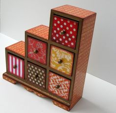 indian asymmetrical jewelry box!