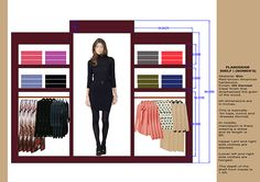 redesign of the store of brand - Tommy Hilfiger in terms of facade, window display, plan and planogram.