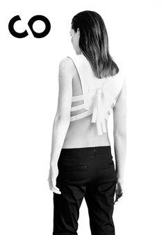 #AlejandroCarlín #stripes #cropedtop #mexico #best #fashion #designers #clickto #couture