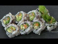 Video Receta: Como preparar Maki vegetariano. Cocina japonesa - YouTube