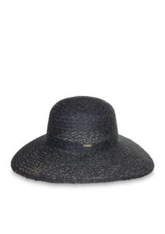 Nine West  Sheer Braided Floppy Hat