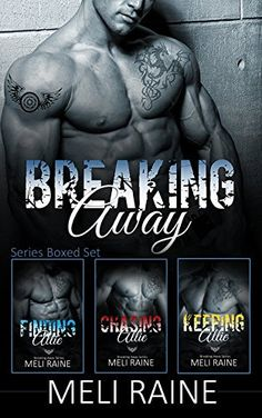 ►►►#SALE 99¢ ☠ #BadassBikerAlert ☠◄◄◄ The Breaking Away Series Boxed Set (Books 1-3) by Meli Raine (aka Julia Kent)  ►Amazon: http://geni.us/m3hw  ►►► BLURB◄◄◄ What if Romeo and Juliet had a happy ending? The son and stepdaughter of rival drug dealers, Chase Halloway and Allie Boden know the odds are stacked against them, but love doesn't care about odds. Love only wants to find a way.   Chase Halloway knows he'll take over his father's motorcycle club when old Galt Halloway's done, but