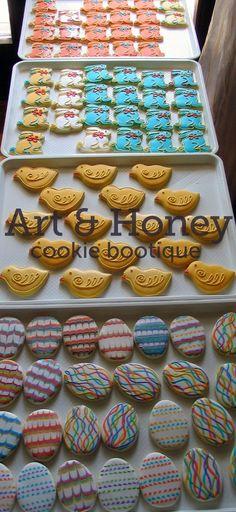 Art & Honey easter cookies - sweet chick