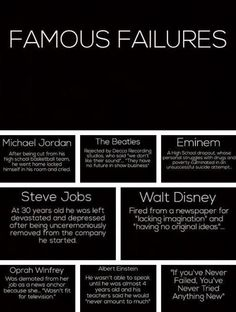 The road to success is littered by quitting but paved by failure.  Very respectfully,  Scott Sonnon