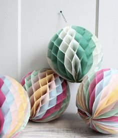 Vintage Crepe Paper Decorations ~ trampoline- want