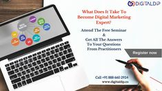 What does it take to become Digital Marketing Expert? Attend our free workshop and get all the answers to your questions from our Experts. Call on : 8886602924 Inbound Marketing, Email Marketing, Social Media Marketing, Digital Marketing, Google Ads, Hyderabad, Seo, Workshop, Take That