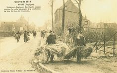 Carte Postale Postcard 1914-1918 1914 Ypres paille pour la confection des lits des soldats straw for the construction of the beds of the soldiers   Flickr - Photo Sharing!