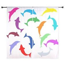 Fish Pattern Curtains by Adrianne_Desire - CafePress Pattern Curtains, Curtain Patterns, Curtain Designs, Fish Patterns, Shower Curtains, Color, Colour, Colors