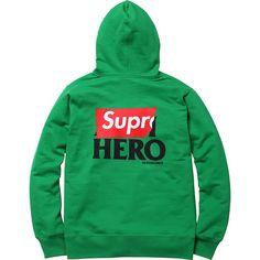 Supreme/ANTIHERO®  Zip-Up Sweatshirt