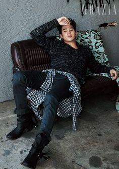 Kim Soo Hyun - Grazia Magazine August Issue '13