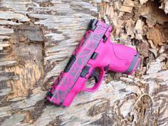 H-224 Sig Pink with H-237 Tungsten @CerakoteFinish #Cerakote