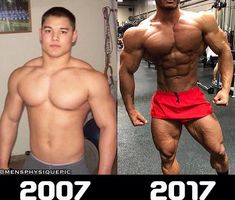 #TransformationTuesday 17 years old (150lbs) -- 26 years old (190lbs) Share your transformations in the comments below.