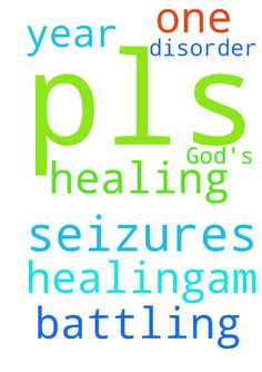 Pls I need God's healing,am - Pls I need Gods healing,am battling with seizures disorder for over one year. Thank you Posted at: https://prayerrequest.com/t/zgc #pray #prayer #request #prayerrequest